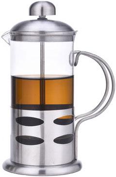 Френч-пресс Olaff, 800 мл. VL-01/800VL-01/800Френч-пресс Olaff - это совершенный чайник для ежедневного использования. Корпус выполнен из стекла и нержавеющей стали. Чайник с плотной крышкой и удобной ручкой имеет специальный фильтр для отделения чайных листьев от воды, а также пресс. После заваривания чая фильтр не надо вынимать. Заваривание чая в чайнике OLAFF - это приятное и легкое занятие. Заварочный чайник займет достойное место на вашей кухне. Современный дизайн полностью соответствует последним модным тенденциям в создании предметов бытовой техники.