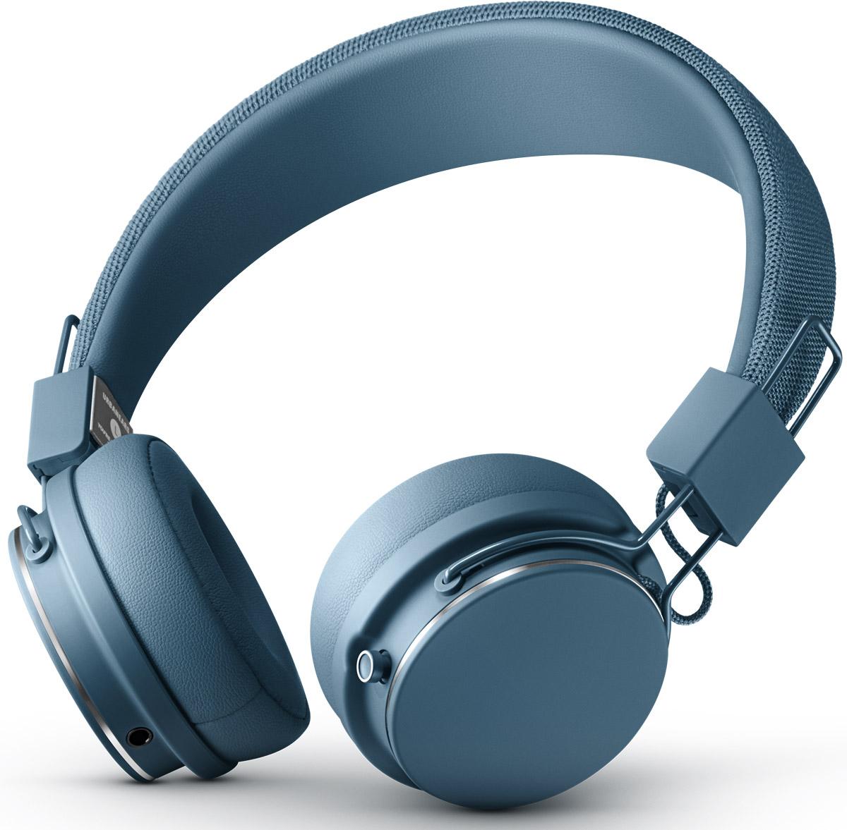 Urbanears Plattan 2 Bluetooth, Indigo наушники7340055350501Urbanears Plattan 2 Bluetooth сочетает в себе канонический дизайн Платанов c 30+ часов беспроводного воспроизведения без ограничений. Четкое звучание полного спектра на дистанции до 10 м и интуитивное управление одной кнопкой. Кроме того, модель отличает встроенный микрофон, эргономичная посадка, возможность поделиться музыкой благодаря ZoundPlug и складная конструкция, что позволит взять наушники с собой куда угодно.