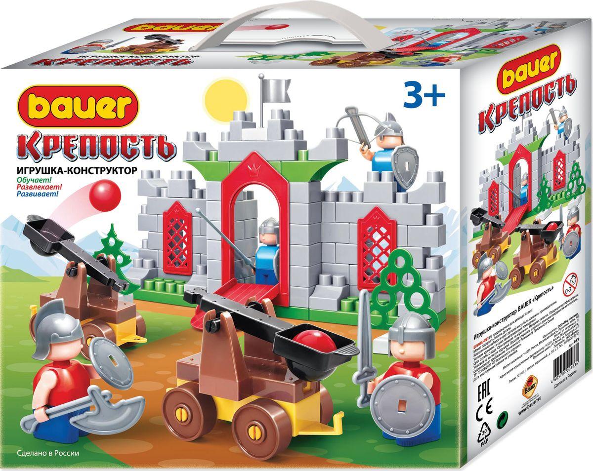 BAUER Конструктор Крепость Две катапульты конструкторы bauer стройка 50 элементов
