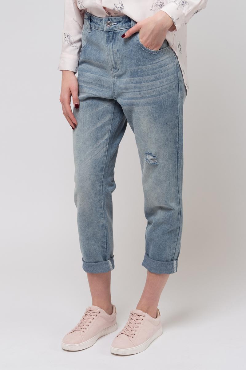 Джинсы женские Sela, цвет: голубой джинс. PJ-335/646-8233. Размер 31 (48)