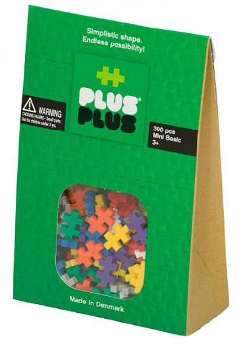 Plus-Plus Развивающий конструктор Mini 300 Basic