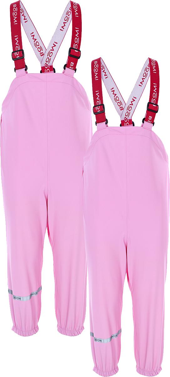 Полукомбинезон детский Boom!, цвет: розовый. 80020_BOU. Размер 110