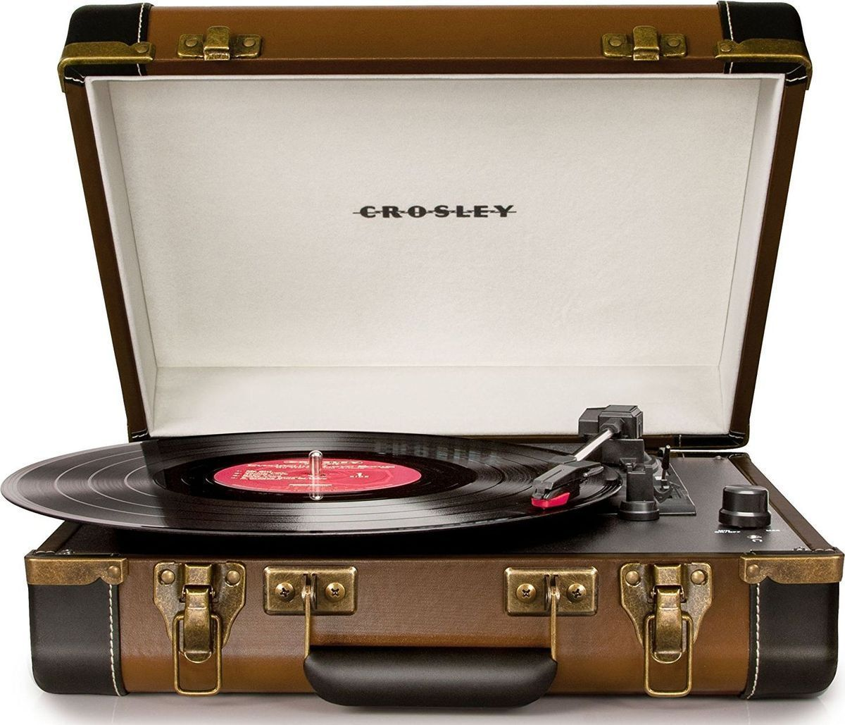Crosley Executive Deluxe, Brown Black виниловый проигрыватель