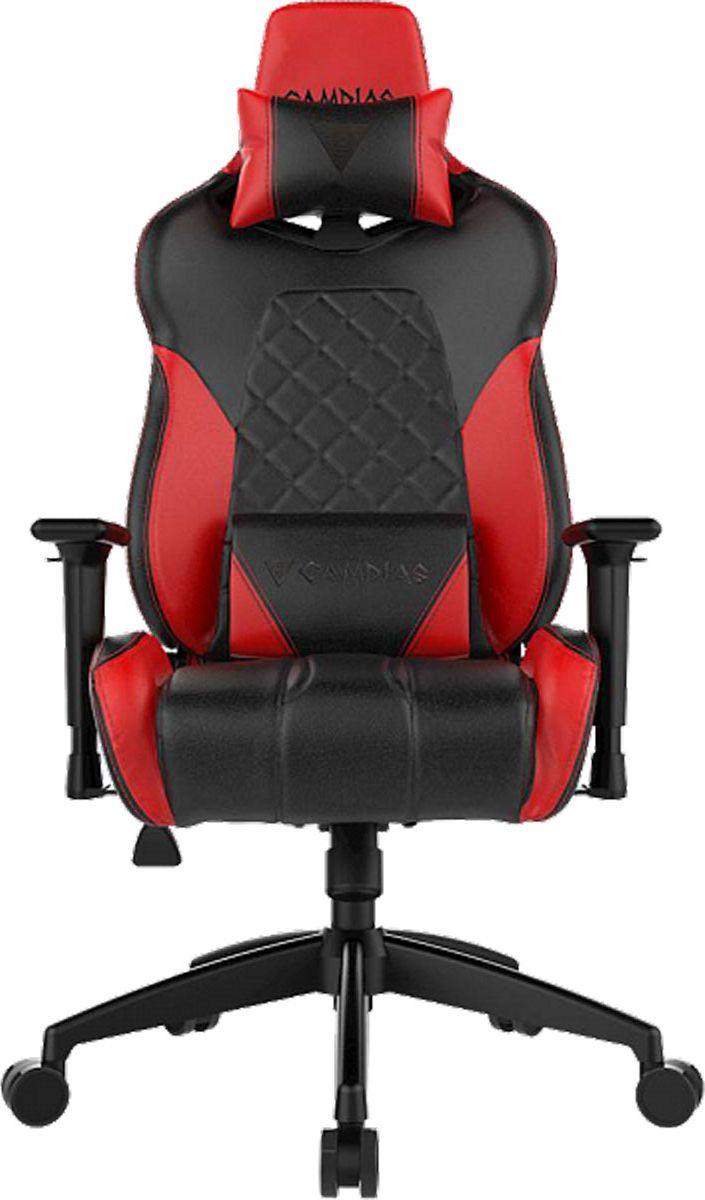 Gamdias Hercules E1, Black Red профессиональное геймерское кресло