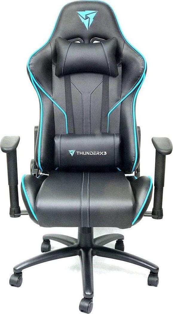 ThunderX3 RC3, Blue Black профессиональное геймерское кресло