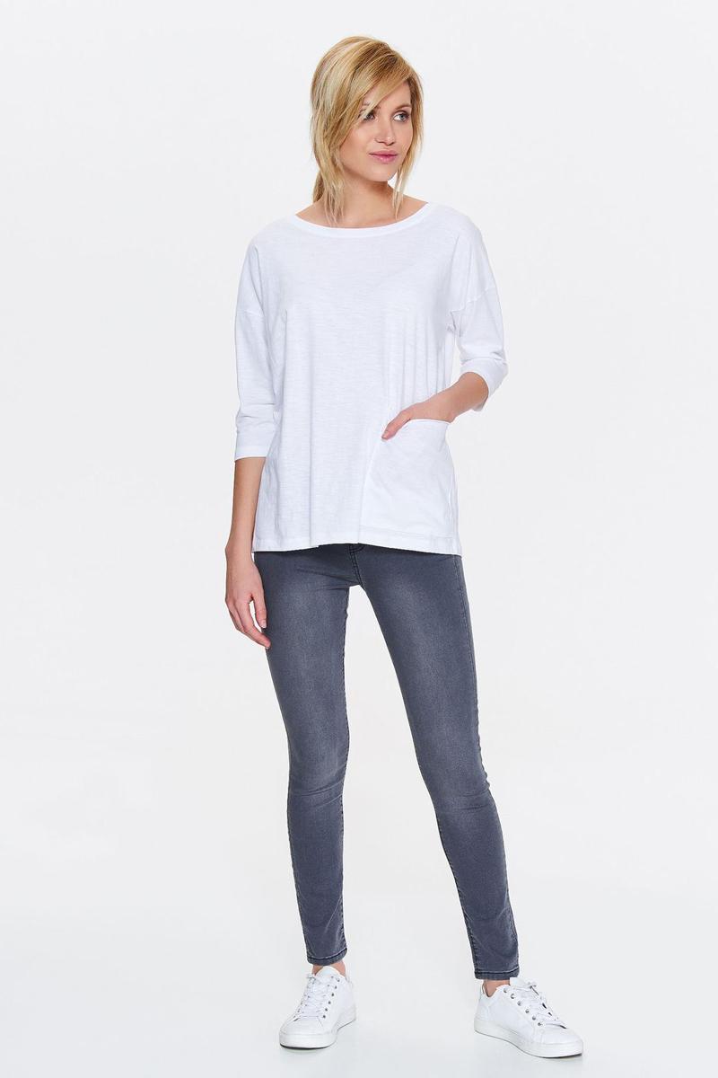 Блузка женская Drywash, цвет: белый. DBD0015BI. Размер L (48) свитер drywash drywash dr592ewxdb47