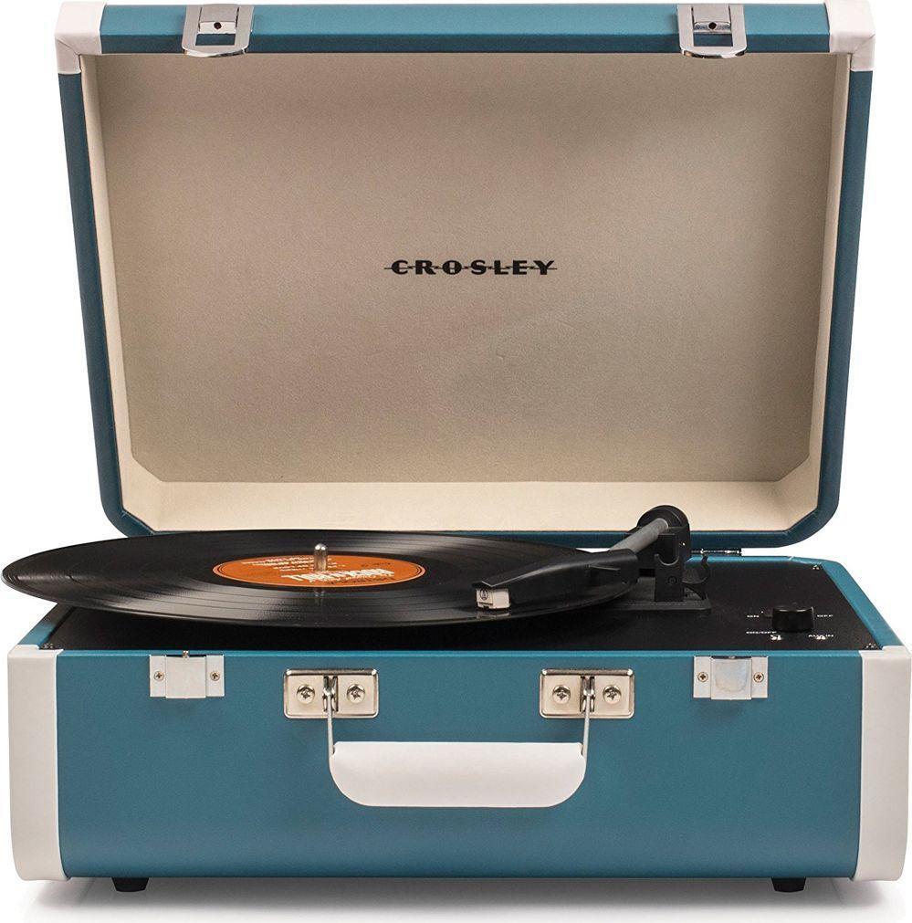 Crosley Portfolio Portable, Turquoise White виниловый проигрыватель crosley portfolio portable