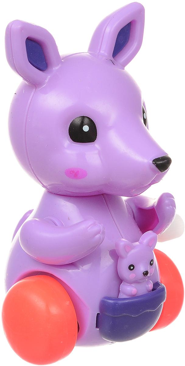 Bampi Заводная игрушка Кенгуру цвет фиолетовый игрушка заводная автомобили 6см