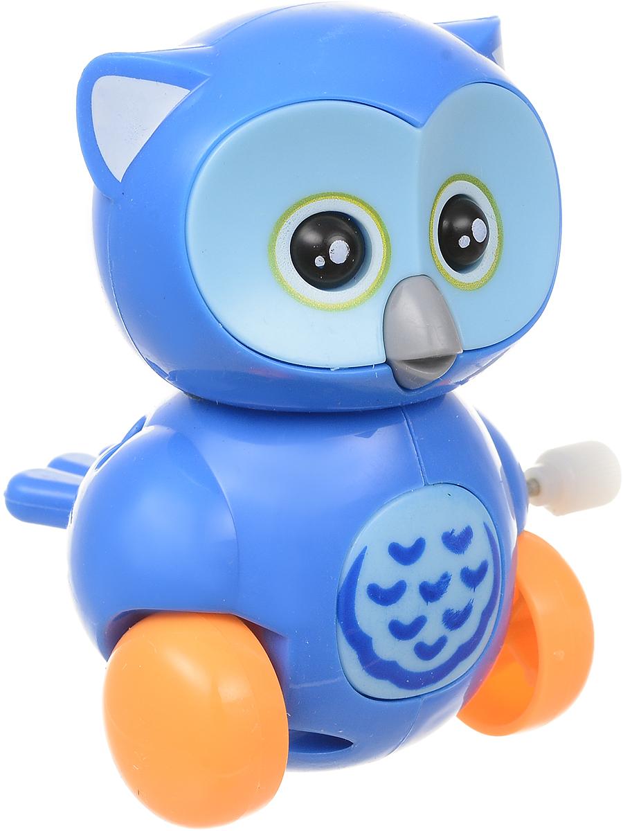 Bampi Заводная игрушка Сова цвет синий micocah синий цвет