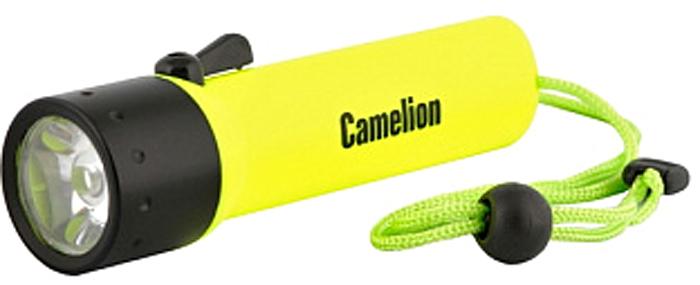 Фонарь подводный Camelion LED51513R, цвет: желтый, черный