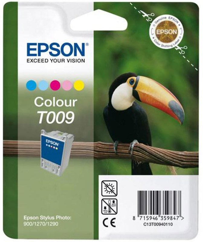 Epson T009401 Color картридж для Stylus Photo 1270 картридж epson color stylus photo 1270 1290 multipack c13t00940210