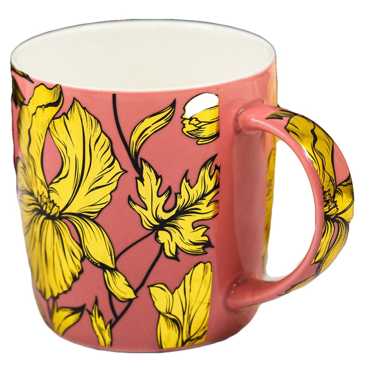 Яркая кружка сделает чаепитие по-настоящему приятным. Она с любовью создана нашими дизайнерами специально для ценителей этого напитка. Интересный дизайн и благородные цвета будут радовать её обладателя долгие годы. Радуйте себя каждый день, ведь жизнь состоит из таких приятных мелочей! Внимание: не помещать в микроволновую печь и посудомоечную машину.