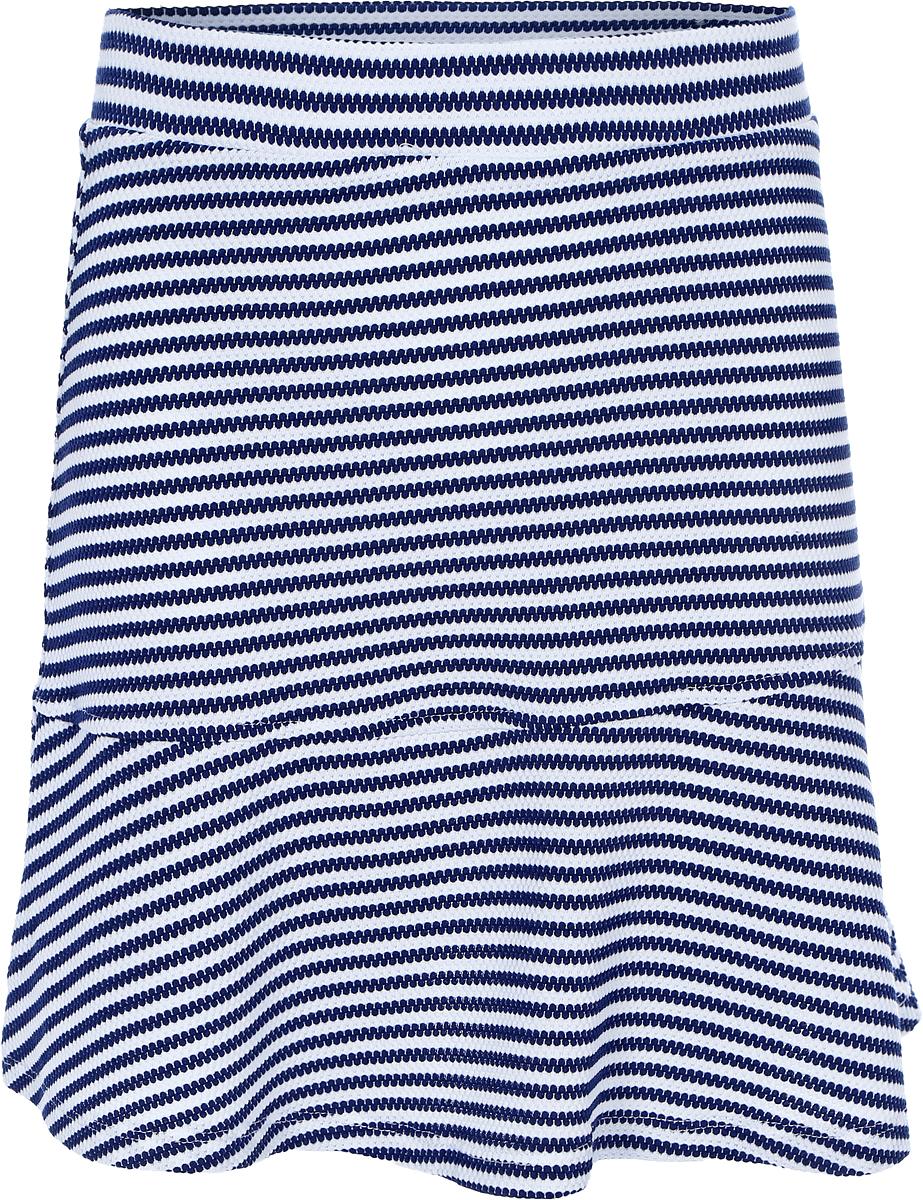 Юбка для девочки Sela, цвет: пурпурно-синий. SKk-618/171-8273. Размер 146, 11 летSKk-618/171-8273