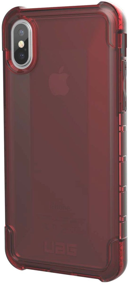 UAG Plyo чехол для Apple iPhone X, Red uag iphone7 4 7 дюйма падение сопротивления mobile shell чехол для apple iphone7 iphone6s iphone6 алмазный желтый бриллиант