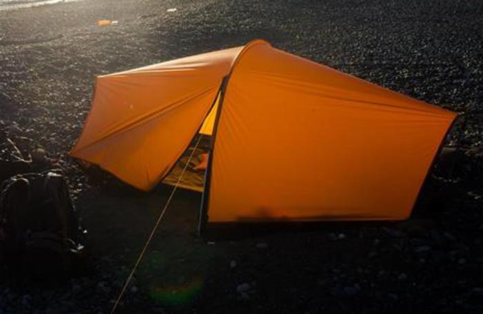 Тент каркасный Сплав  Nomad , 2-местный, цвет: оранжевый - Палатки и тенты