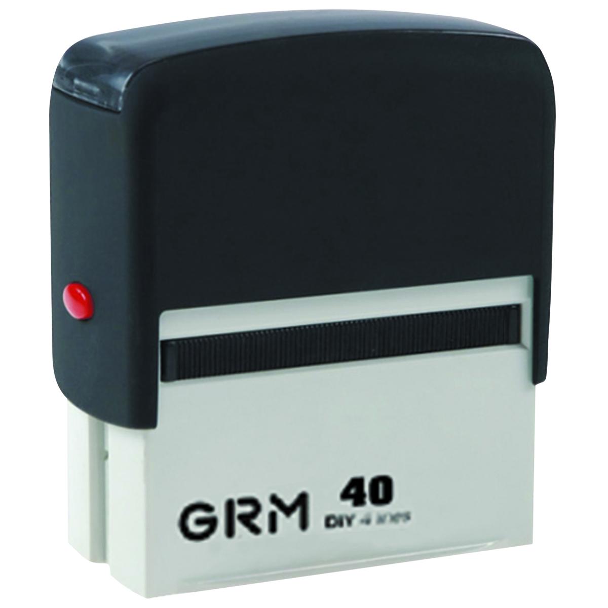 GRM Штамп самонаборный шестистрочный 59 х 23 мм -  Печати, штампы