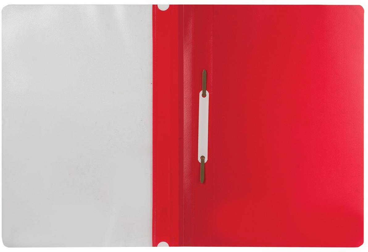 Brauberg Папка-скоросшиватель цвет красный 220384