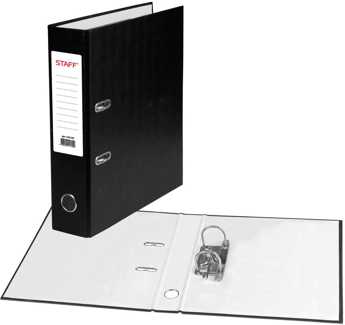 Staff Папка-регистратор цвет черный 225187 - Папки