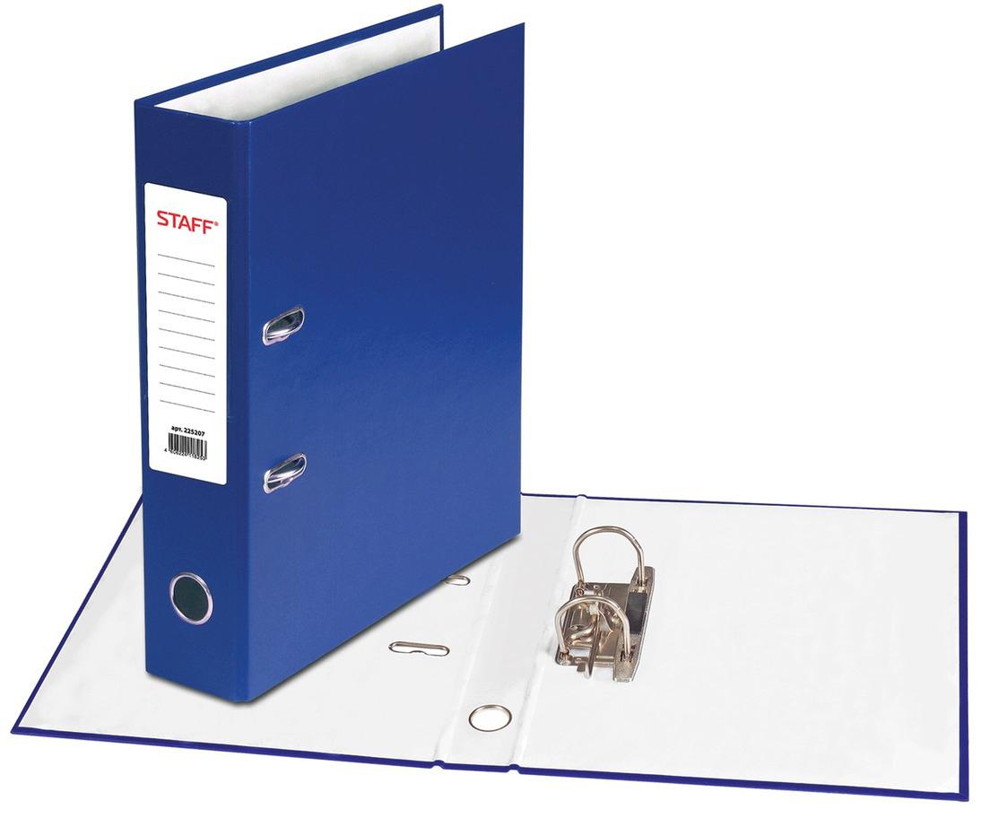 Staff Папка-регистратор цвет синий 225207 - Папки