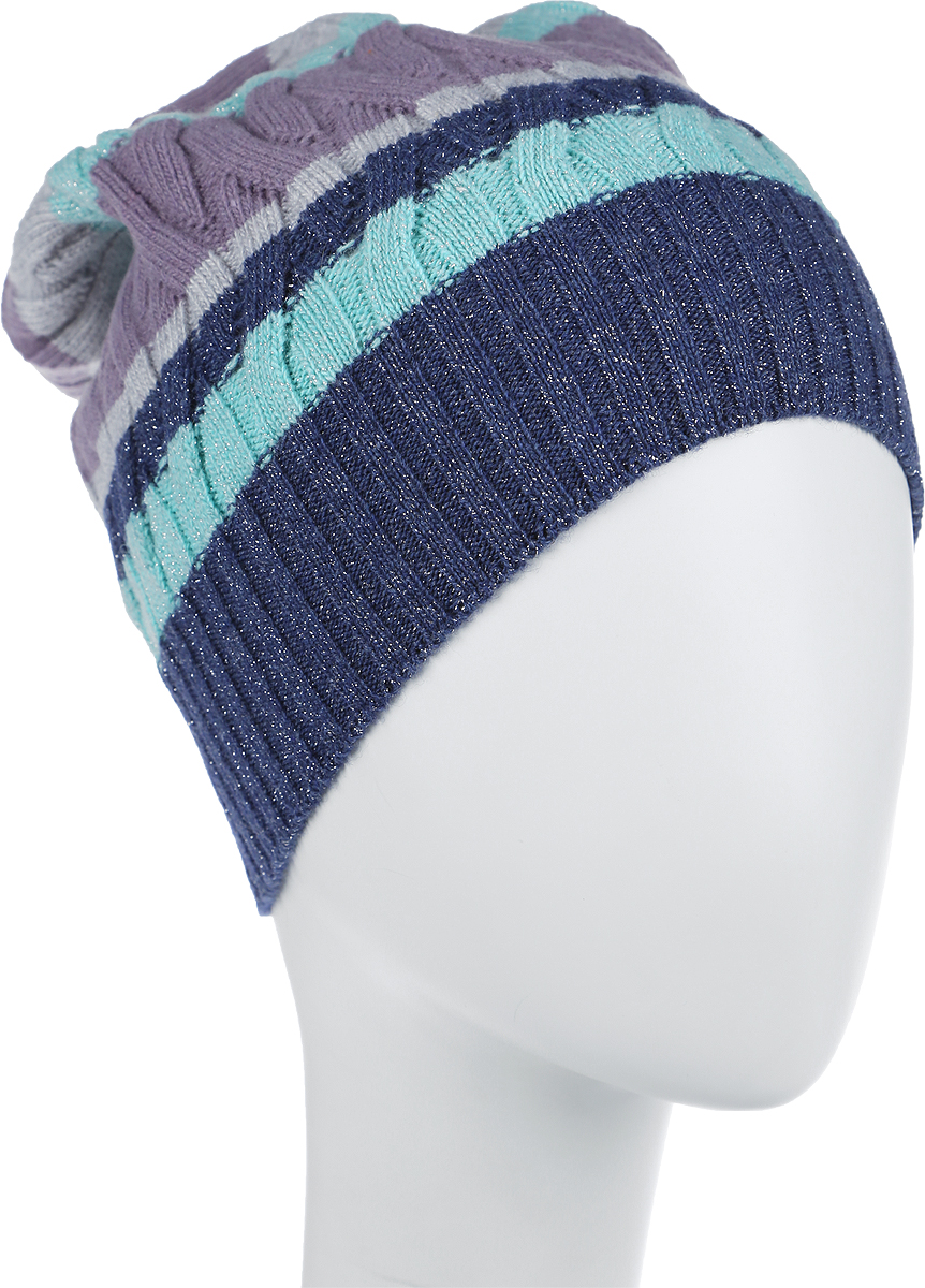 Шапка женская Marhatter, цвет: разноцветная. MWH5635. Размер 56/58MWH5635Стильная шапка, выполнена в оригинальной цветовой гамме из пряжи с содержанием кашемира и шерсти мериноса, добавит уникальность вашему образу. Данная модель мягкая и комфортная на ощупь, отличный вариант на каждый день. Размер, доступный для заказа, является обхватом головы.