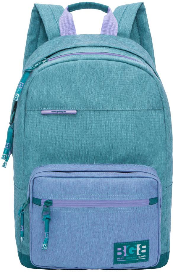 Рюкзак городской Grizzly, цвет: бирюзовый. RL-856-1/2RL-856-1/2Рюкзак молодежный, одно отделение, карман на молнии на передней стенке, объемный карман на молнии на передней стенке, внутренний карман для электронных устройств, укрепленная спинка, карман быстрого доступа в верхней части рюкзака, дополнительная ручка-петля, укрепленные лямки.