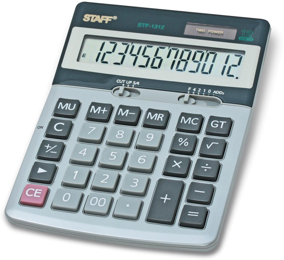 Staff Калькулятор настольный STF-1312