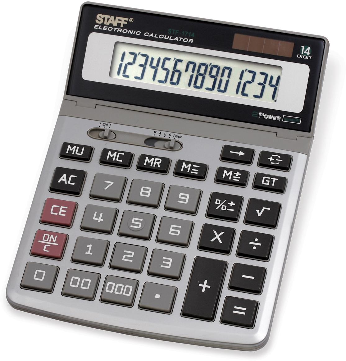 Staff Калькулятор настольный STF-1714