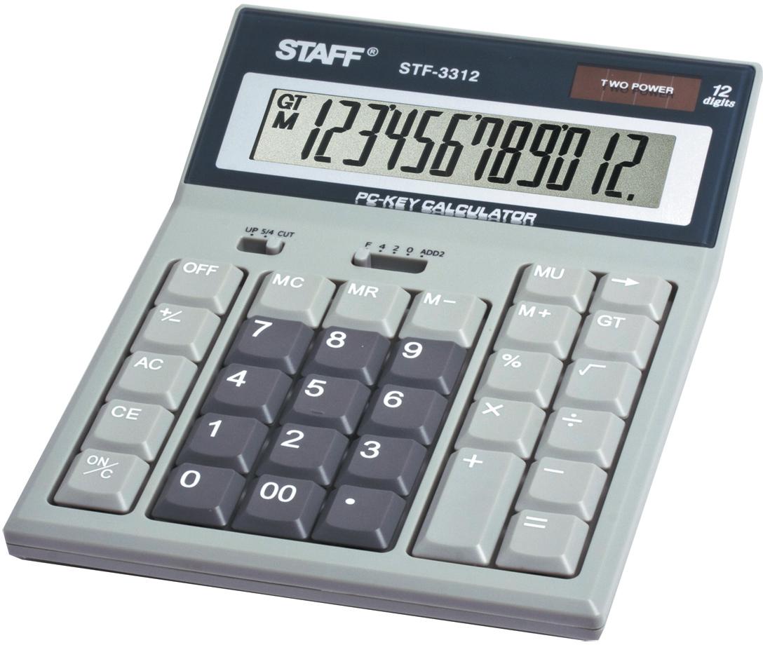 Staff Калькулятор настольный STF-3312 джемпер name it name it na020ebwvs41
