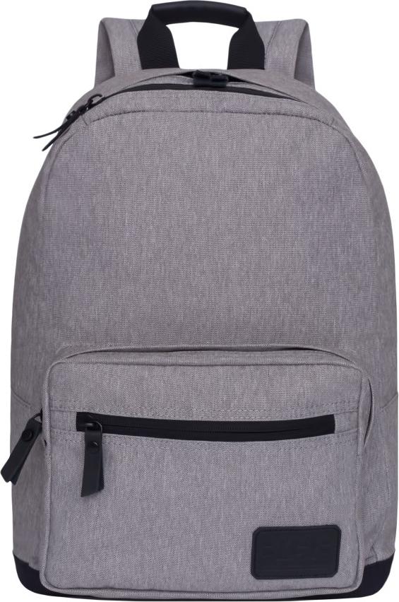 Рюкзак городской Grizzly, цвет: серый. RL-851-1/1RL-851-1/1Рюкзак молодежный, одно отделение, карман на молнии на передней стенке, объемный карман на молнии на передней стенке, внутренний карман для электронных устройств, укрепленная спинка, карман быстрого доступа в верхней части рюкзака, дополнительная ручка-петля, укрепленные лямки.