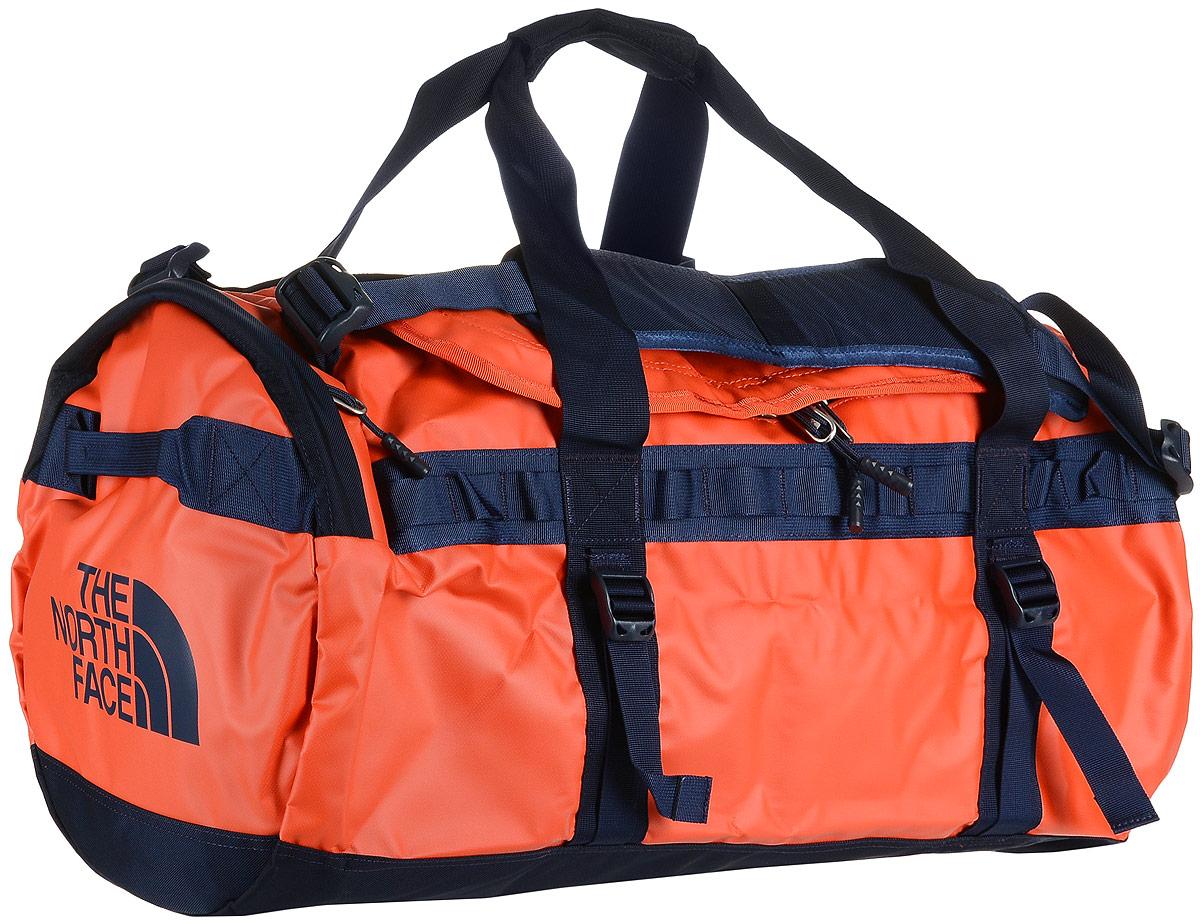 Сумка дорожная The North Face Base Camp Duffel - M, цвет: оранжевый. T93ETP2RTT93ETP2RT