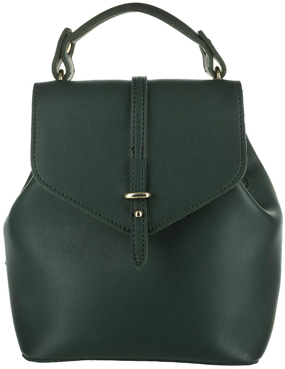 Рюкзак женский DDA, цвет: темно-зеленый. DDA LB-2011DG