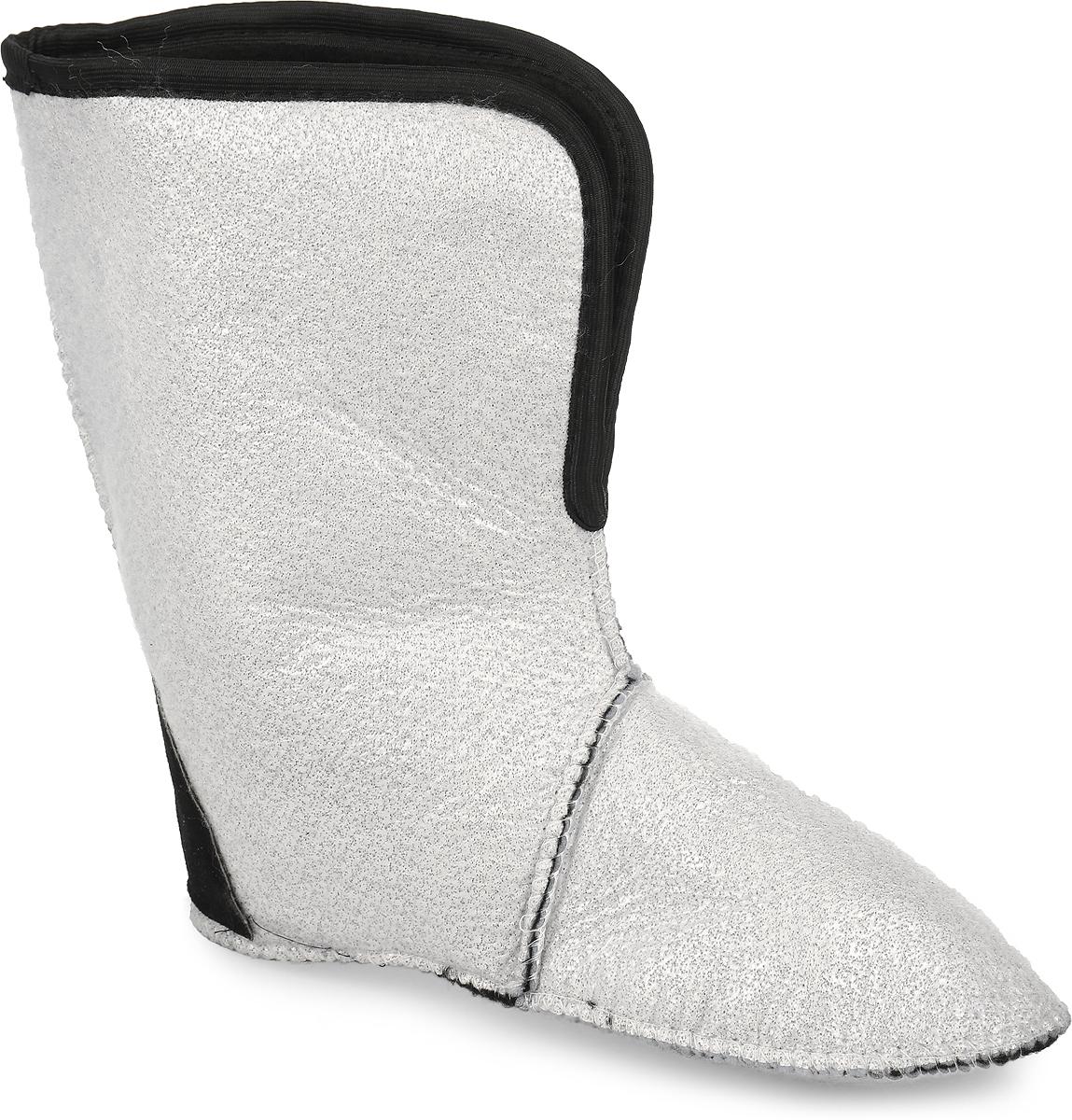 Утеплитель Дарина Зима, 5 слоев, цвет: белый, черный. Размер 45-47Зима/45-47Утеплитель Дарина Зима предназначен для защиты ног от холода и влаги. Особенности:Мягкий мех, 100% ПЭНетканое полотно Трикотажное полотно с гидрофобным волокном Металлизированная фольга для отражения холодаМембранная сетка для защиты фольгиПятка Оксфорд плотность 600 Температурный режим -30°C Съёмный Кол-во слоев - 5.