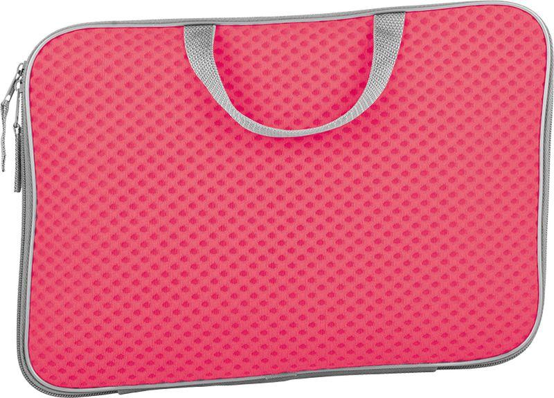 Berlingo Папка Color Zone А4 цвет розовыйST06302Удобная папка для тетрадей, альбомов, школьных канцелярских принадлежностей. Выполнена из оригинальных тканей ярких цветов.