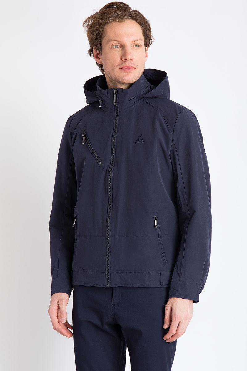 цена на Куртка мужская Finn Flare, цвет: темно-синий. B18-21010. Размер 3XL (56)