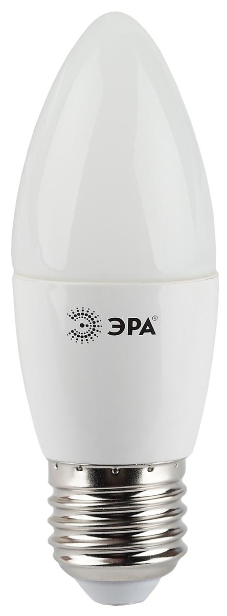 Лампа светодиодная ЭРА, цоколь E27, 4000K. B35-7w-840-E27 фонарь брелок эра 1xled с лазерной указкой