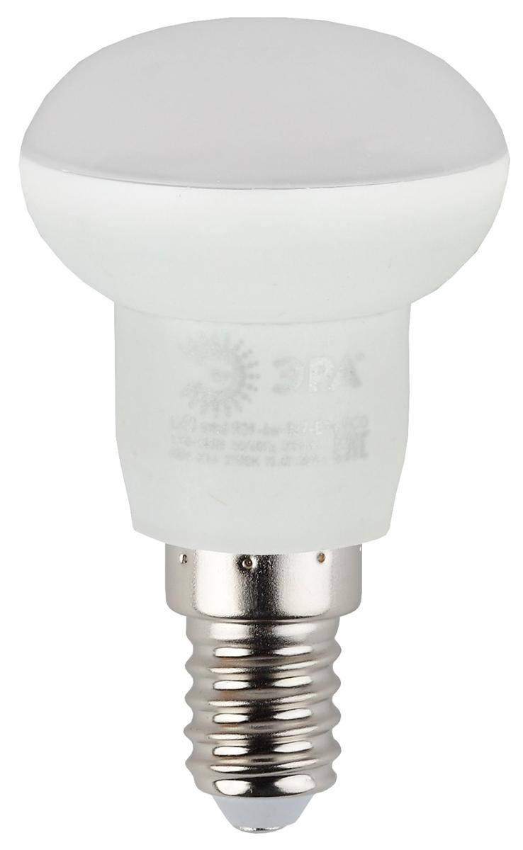 Лампа светодиодная ЭРА Eco, цоколь E14, 4W, 4000K. R39-4w-840-E14_eco лампа светодиодная эра led smd bxs 7w 840 e14 clear