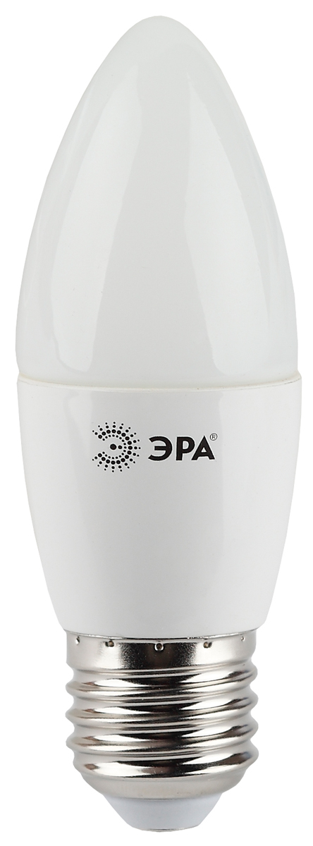 Лампа светодиодная ЭРА, цоколь E27, 7W, 2700K. B35-7w-827-E27 лампа светодиодная свеча эра b35 7w 827 e14 e14 7w 2700k