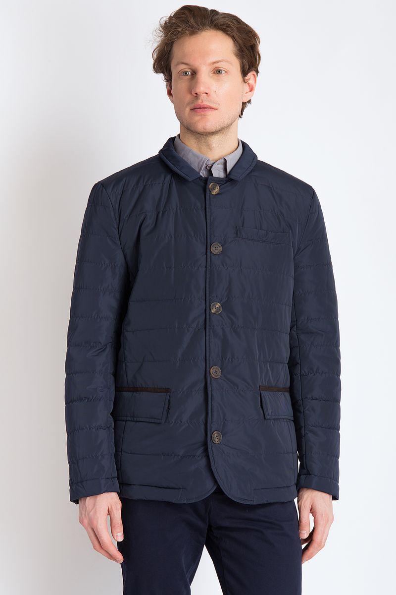 цена на Куртка мужская Finn Flare, цвет: темно-синий. B18-21012. Размер 3XL (56)