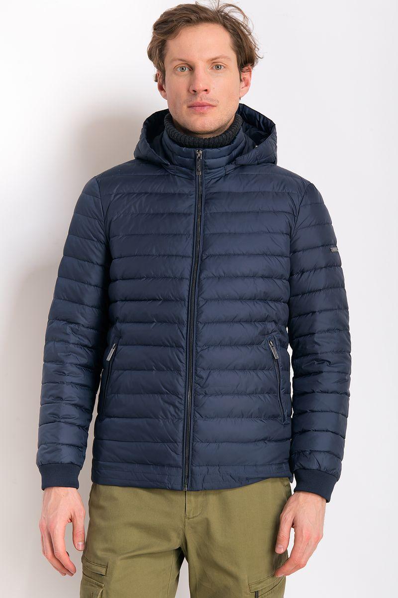 Куртка мужская Finn Flare, цвет: темно-синий. B18-21016. Размер 4XL (58) рубашка мужская finn flare цвет голубой b18 21023 размер 4xl 58