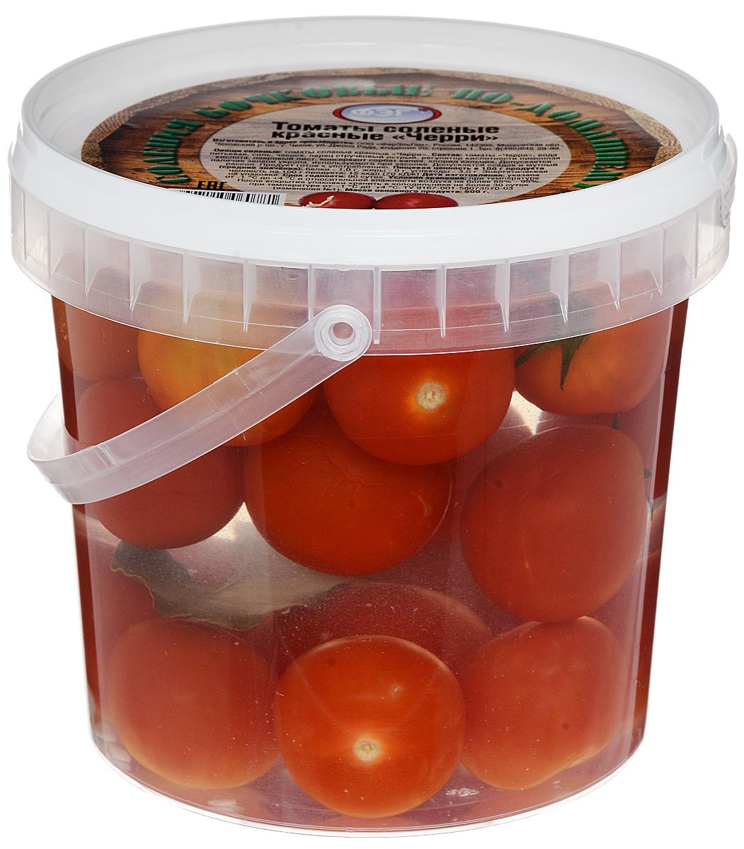 ФЭГ Помидоры красные Черри, соленые, 1000 г фэг помидоры красные черри соленые 1000 г