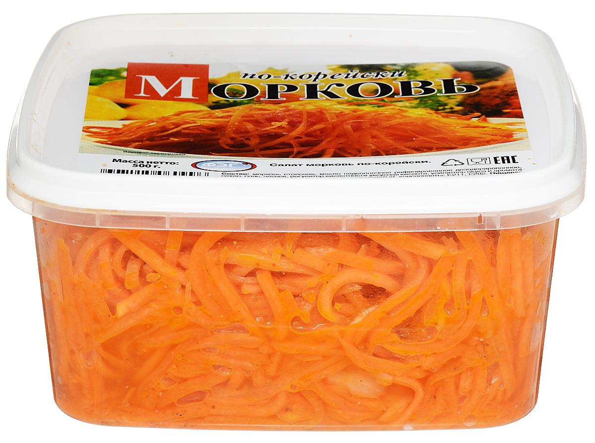 ФЭГ Морковь по-корейски, 500 г фэг капуста квашеная с клюквой 800 г