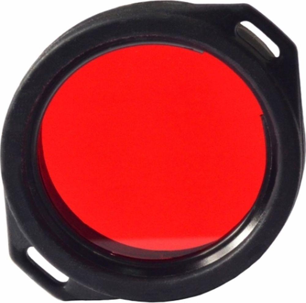 Фильтр для фонарей Armytek, для охоты, цвет: красный. A00601RA00601RКрасный фильтр для Armytek серии Partner и Prime используется для чтения карт, подачи сигнала и охоты, так как некоторые животные не способны видеть красный свет.