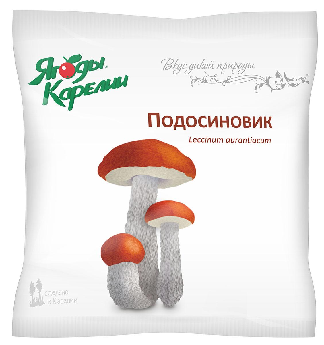 Ягоды Карелии Подозиновик резаный быстрозамороженный, 200 г ягоды карелии сироп красносмородиновый с мякотью 0 51 л