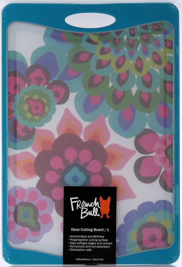 Доска разделочная French Bull Gala, цвет: синий. CB-DE-M36F