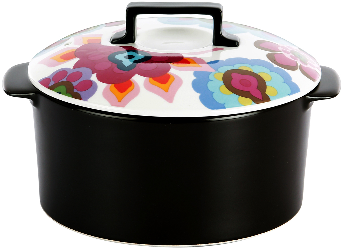 Настоящая керамическая кастрюля из коллекции Gala медленно протомит кашу вкуснее  бабушки, запечет тающий во рту жульен и нежные пирожные - ваши блюда обретут  неповторимый вкус и аромат! Используется в духовке и на всех видах плит.  На столе и в духовке, в холодильнике и даже в посудомоечной машине - эта мини-кастрюля  способна дарить бесконечное удовольствие, где бы она ни оказалась! Настоящая модная  штучка для знатоков вкуса!