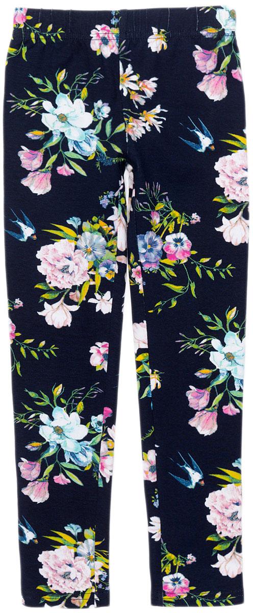 Леггинсы для девочки Acoola Gemini, цвет: темно-синий. 20220160154_600. Размер 11620220160154_600Трикотажные леггинсы станут ярким и удобным элементом в гардеробе девочки в любое время года. Леггинсы отлично сочетаются с юбкой или сарафаном, с любой кофтой или блузой, повседневной одеждой и школьной формой. В холодные дни их можно использовать как первый слой одежды. Талия на резинке. На фотографии представлен размер 110.Ширина изделия по линии талии - 21 см.Ширина изделия по линии бедер - 25 см.Длина внутреннего шва - 43 см.Разница между размерами составляет 1,5 см.