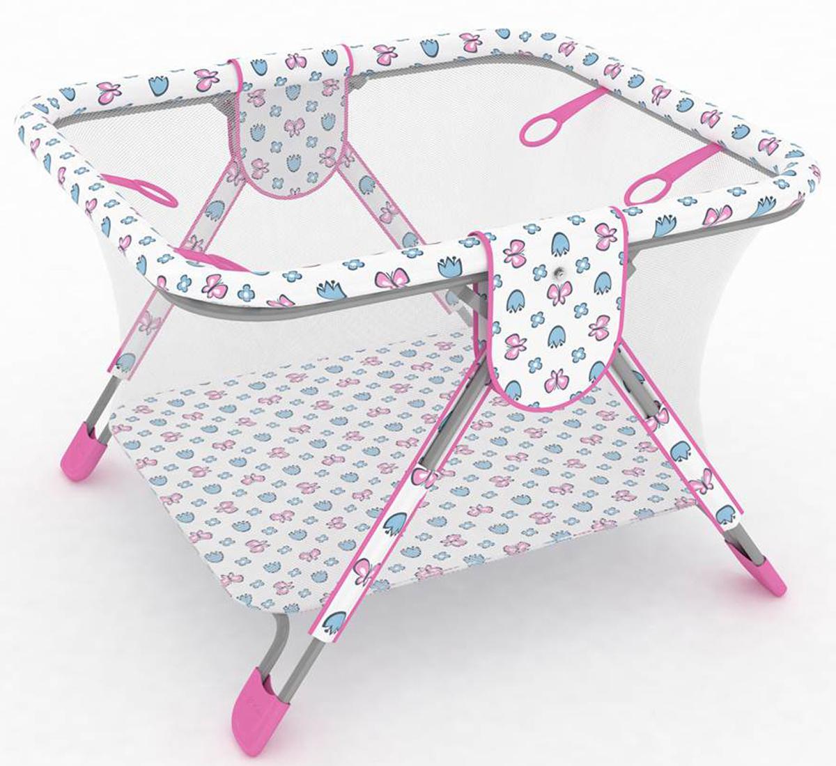 Фея Манеж Книжка Экстра цвет розовый0001026-2Описание:- манеж имеет 4 ручки-кольца для ребенка, - дно и края манежа мягкие, чтобы защитить ребенка от ушибов,- сетка с круговым обзором соответствует всем нормам безопасности,- покрытие легко моется, - рисунки выполнены нетоксичной краской,- легко и компактно складывается,- занимает мало места при хранении.