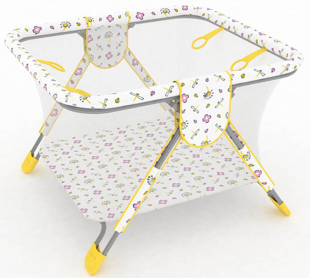 Фея Манеж Книжка Экстра цвет желтый0001026-3Описание:- манеж имеет 4 ручки-кольца для ребенка, - дно и края манежа мягкие, чтобы защитить ребенка от ушибов,- сетка с круговым обзором соответствует всем нормам безопасности,- покрытие легко моется, - рисунки выполнены нетоксичной краской,- легко и компактно складывается,- занимает мало места при хранении.