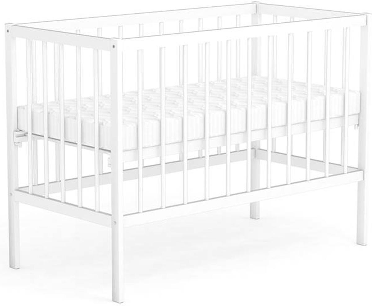 Фея Кровать детская цвет белый 0005509-030005509-03Габариты и вес: Размеры (ДхШхВ) – 124 х 68 х 96 см Размер ложа – 60 х 120 см Вес - 13 кг.