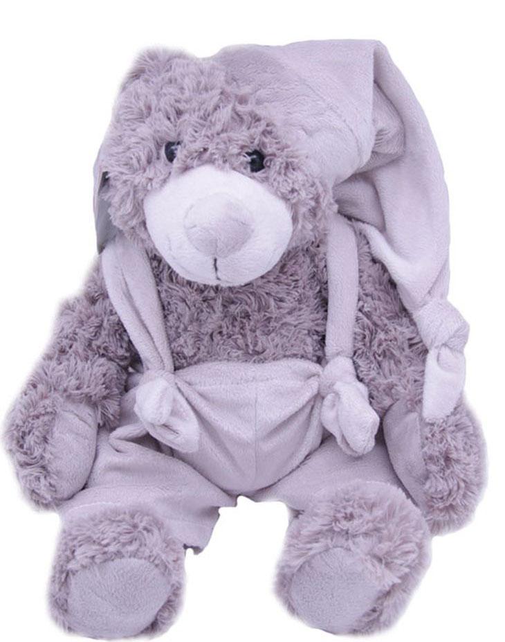 Magic Bear Toys Мягкая игрушка Мишка Патрик в шапке 20 см